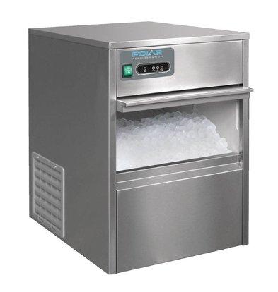 Polar Machine à Glaçons - 20Kg/24 Heures - Capacité Du Bac 4Kg - Garantie 2 Ans