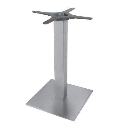 CHRselect Pied De Table Carré   Inox   720(h)mm