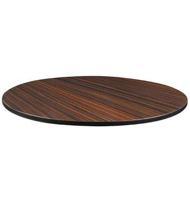 Compact Exterior Plateau De Table | Ébène | Compact Exterior | Ø600mm