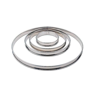 Matfer Cercle à Tarte Inox - Matfer - 240mm