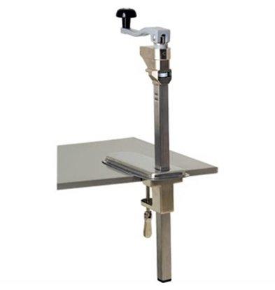 CHRselect Ouvre-Boîte De Table Inox - jusqu'à 580mm - 770(h)mm