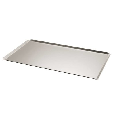 Bourgeat Plaque De Cuisson + Bord Incliné - Aluminium - Gn 1/1 - 530x325mm