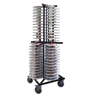 Jackstack Porte-Assiettes Déplaçable - 104 Assiettes - 600x600x1790(h)mm