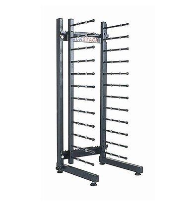 Jackstack Porte-Assiettes - Modèle de Table - 12 Assiettes - 290x300x730(h)mm