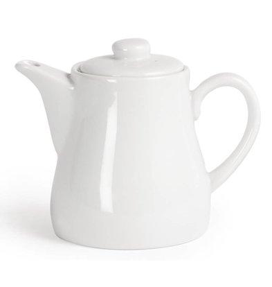CHRselect Pot à Thé Blanc - Olympia - 483ml - 4 Pièces
