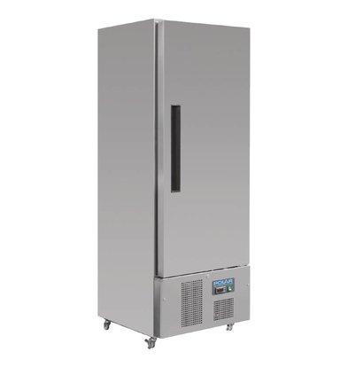 Polar Réfrigérateur Inox | 440 Litres | Réfrigérant R134a | 700x680x1950(h)mm