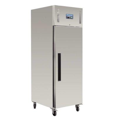Polar Réfrigérateur Inox | 600 Litres | Gastronorme 2/1 | 815x680x2000(h)mm