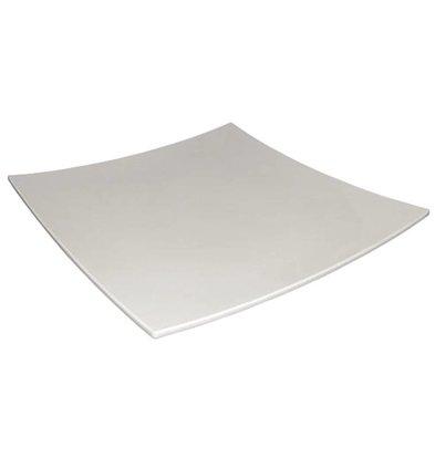Kristallon Assiette Carrée Incurvée - Kristallon - Disponibles en 2 Tailles