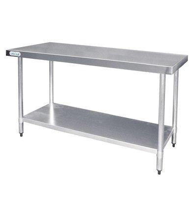 F.E.D. Table De Travail Inox - Sans Rebords - 1200x600x900(h)mm