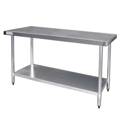 F.E.D. Table De Travail Inox - Sans Rebords - 1500x600x900(h)mm