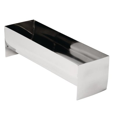 CHRselect Moulin à Pâte/Terrine Inox - Forme U - 260x80x75mm