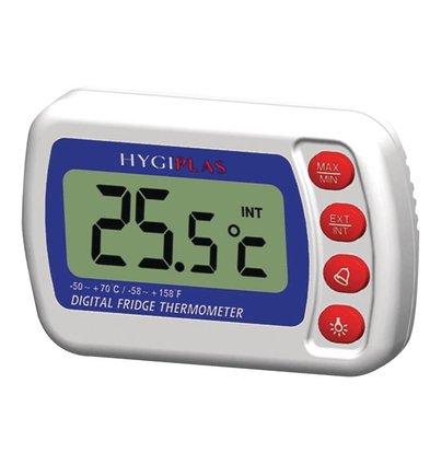 CHRselect Thermomètre Numérique | Pour Congélateur/Réfrigérateur | Hygiplas
