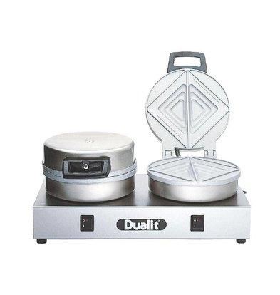 Dualit Grille-Pain à Contact - Dualit - 60 Tranches/Heure - Modèle 73002
