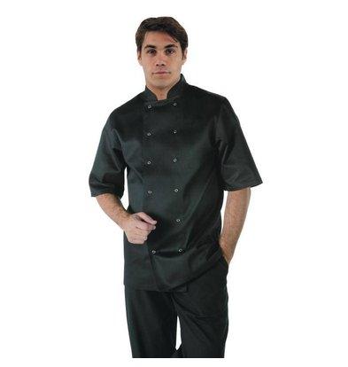 CHRselect Veste Noire à Manches Courtes - Vegas Whites - Unisexe - Disponibles En 6 Tailles