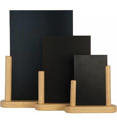 Securit Tableau Ardoise de Table Nature - Disponibles En 3 Tailles