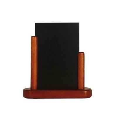 Securit Tableau Ardoise de Table Acajou - Disponibles En 3 Tailles