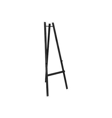 Securit Chevalet de Table Noir - 1650(h)mm