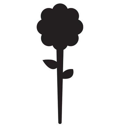 Securit Ardoises Pique Fleur 5 Pièces + 1 Feutre