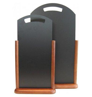 Securit Ardoise De Table Wengé - 300x550mm
