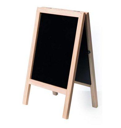 Securit Ardoise De Table Mini Hêtre - 240x150x20mm