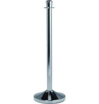 Securit Pilier de Barrière Chrome | 13(!)kg | 1000(h)mm