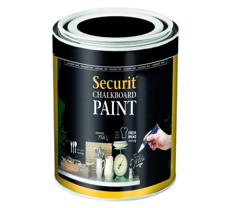 securit peinture ardoise acrylique noir 250ml. Black Bedroom Furniture Sets. Home Design Ideas