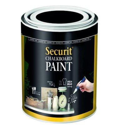Securit Peinture Ardoise Acrylique Noir - 2500ml
