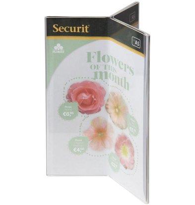 Securit Porte Affiche de Table Transparent - Disponibles En 2 Tailles
