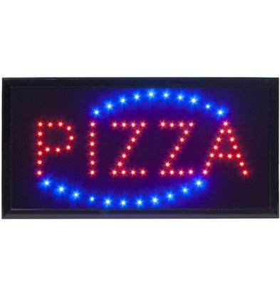 "Securit Affichage LED ''PIZZA"""