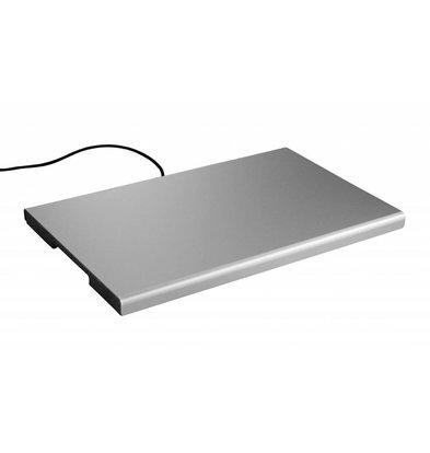 Hendi Plaque Chauffe-Plat Aluminium - GN1/1 - 190W - 530x325x25(h)mm