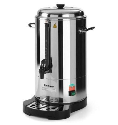 Hendi Percolateur Inox | 10 Litres | Ø288x530(h)mm
