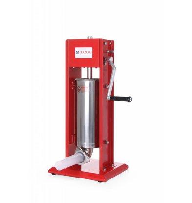 Hendi Machine à Saucisse Inox - Kitchen Line - 5 Litres - 300x340x690(h)mm