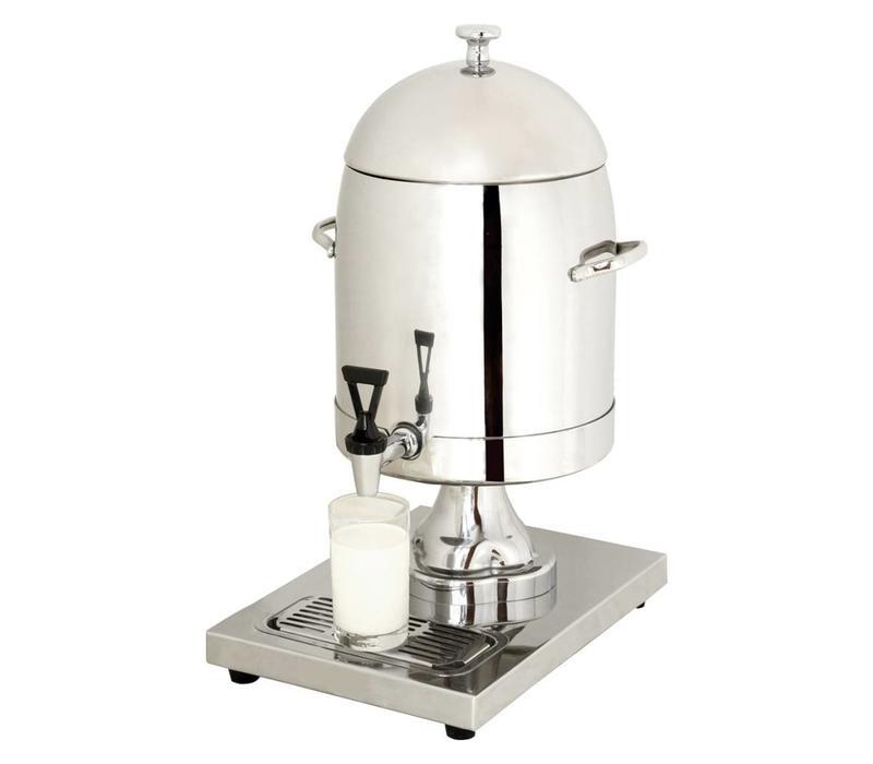 fontaine de lait inox robinet antigoutte 10 5 litres 260x360x536 h mm. Black Bedroom Furniture Sets. Home Design Ideas