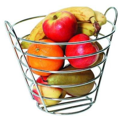 Hendi Corbeille à Fruits - Fil Métallique Chromé - Ø215x205(h)mm