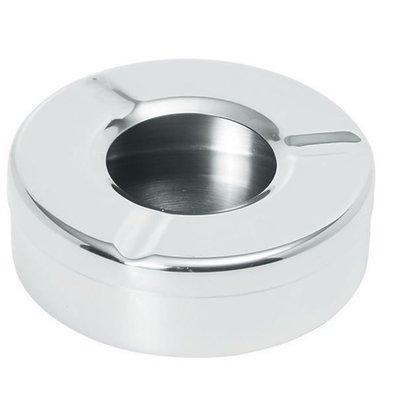 Hendi Cendrier Inox + Couvercle - Ø90x28(h)mm