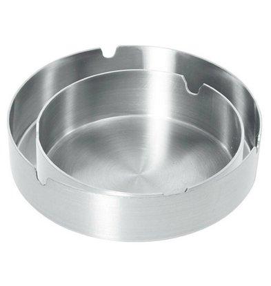Hendi Cendrier Inox - Extra Lourd - Ø120x28(h)mm