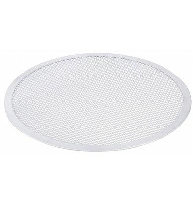 Hendi Plaque à Pizza Aluminium - Modèle Solide - Disponible en 9 Tailles