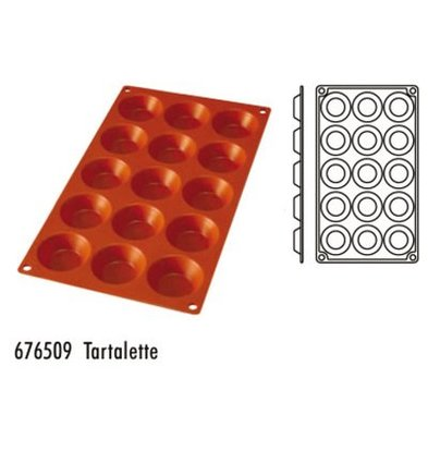 Hendi Moule Silicone GN1/3 - 15 Tartelettes