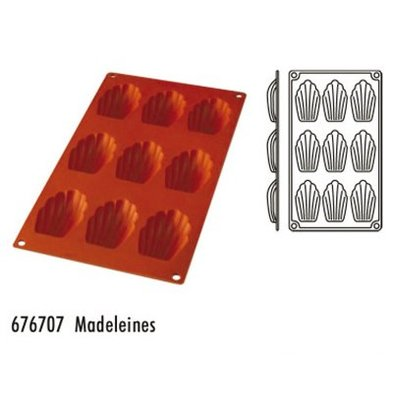 Hendi Moule Silicone GN1/3 - 9 Madelaines