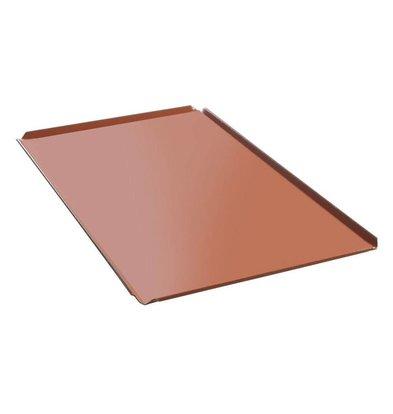 Hendi Plateau GN 1/1 Aluminium - Avec 4 Bords - Revêtement Silicone - 10(h)mm