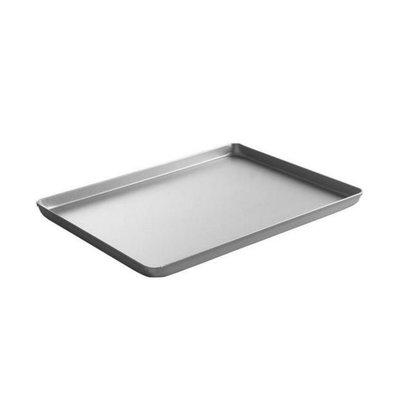 Hendi Plateau Aluminium - Couleur Argent - 400x300x20(h)mm