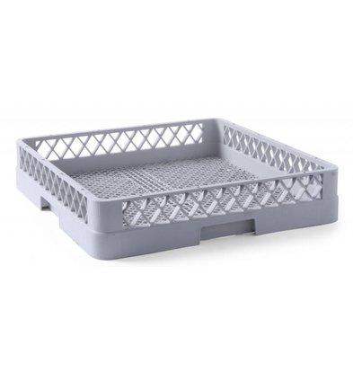 Hendi Casier de Lavage Pour Couverts - Polypropylène - 500x500x100(h)mm