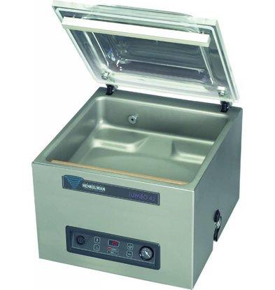 Henkelman Machine Sous Vide Jumbo 42 - Barre de Soudure Double | Henkelman | 016m3 / 20-40 sec | 525x480x(h)430mm
