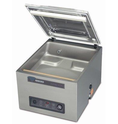 Henkelman Machine Sous Vide Jumbo 42 XL - Double Barre Soudure | Henkelman | 016m3 / 20-45 sec | 610x480x(h)470mm