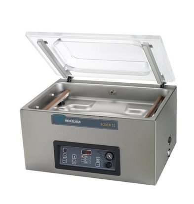 Henkelman BOXER 52 | Machine Sous Vide Henkelman | 021m3 / 20-40 sec |700x530x(h)440mm