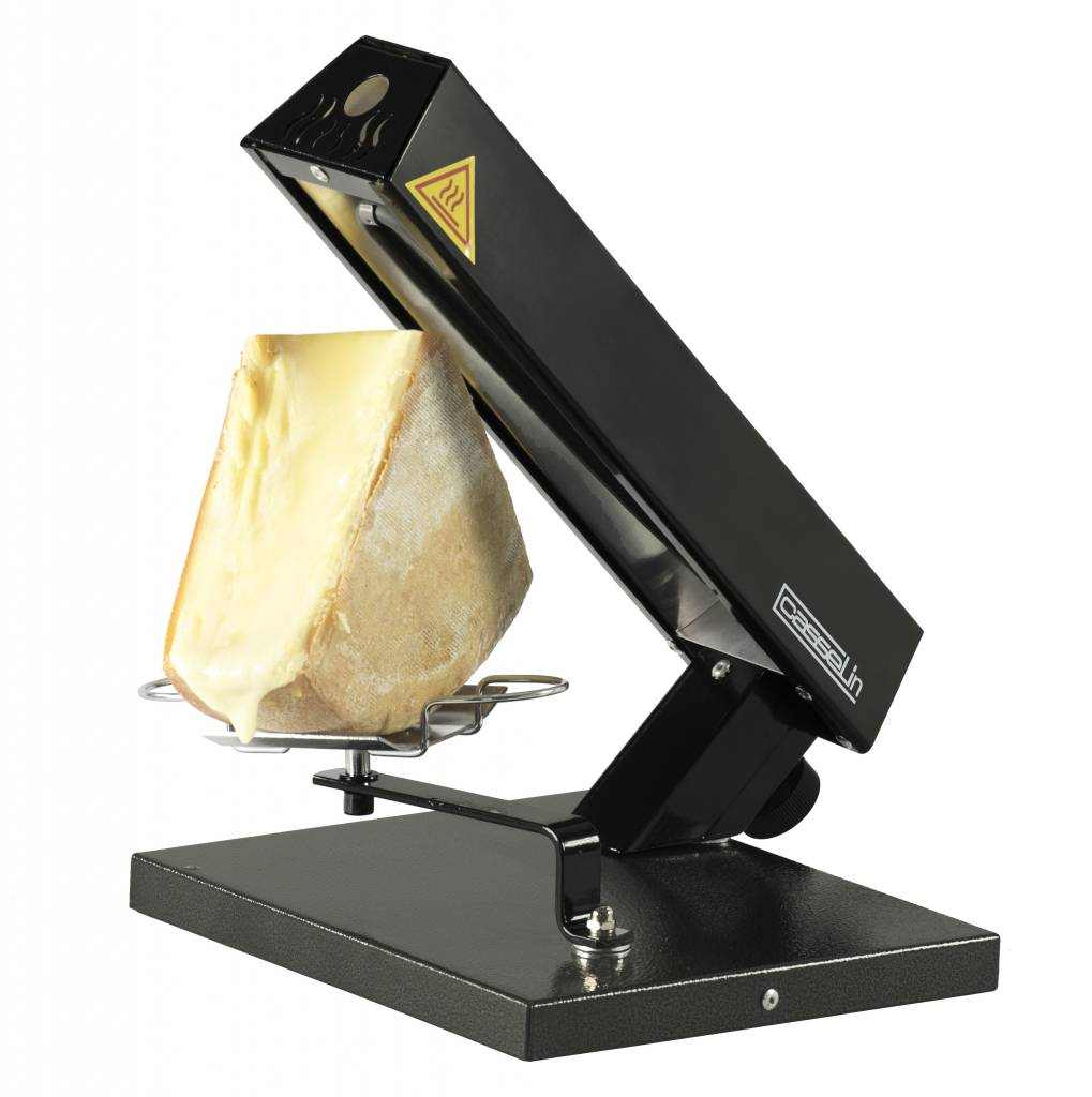 casselin appareil à raclette - quart de meule - 0,6kw - 242x285x333(h)mm