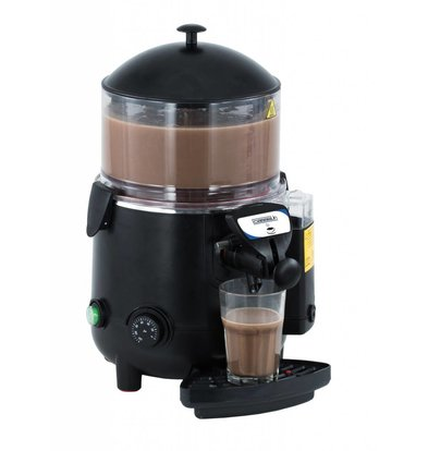 Casselin Chocolatière En ABS Noire | 5 Litres | 1006W | 410x280x460(h)mm