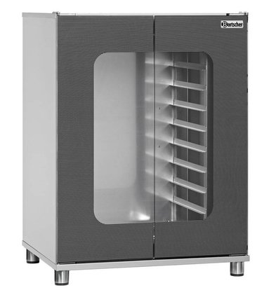 Bartscher Armoire De Fermentation Inox - 8x GN2/3 - 2kW - 700x600x960(h)mm