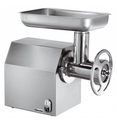 Bartscher Hache-Viande Inox - 300kg/h - 1100W - 255x450x450(h)mm