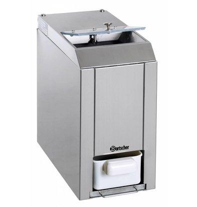 Bartscher Broyeur De Glace - Aluminium - 60kg/h - 60W - 173x380x385(h)mm